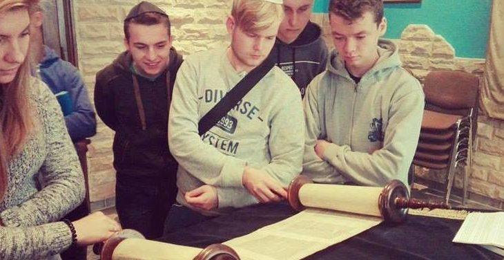 Uczniowie ZS nr 1 z Wadowic
