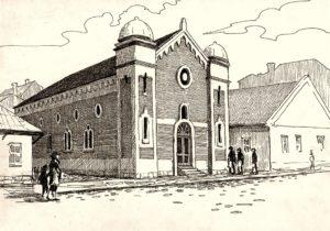 Kęty Synagoga - Marek Nycz